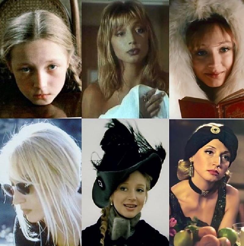 Орбакайте выложила коллаж из своих ярких ролей, начиная от фильма «Чучело»