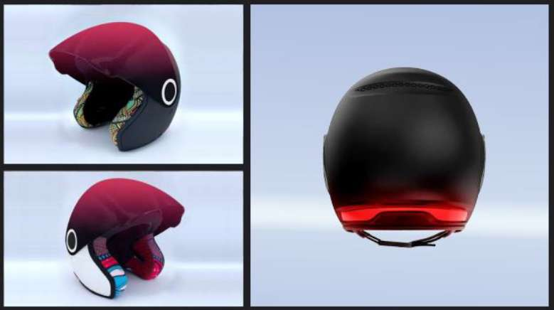 Байкеры оценят: французы разработали умный мотоциклетный шлем с дополнительным уровнем безопасности