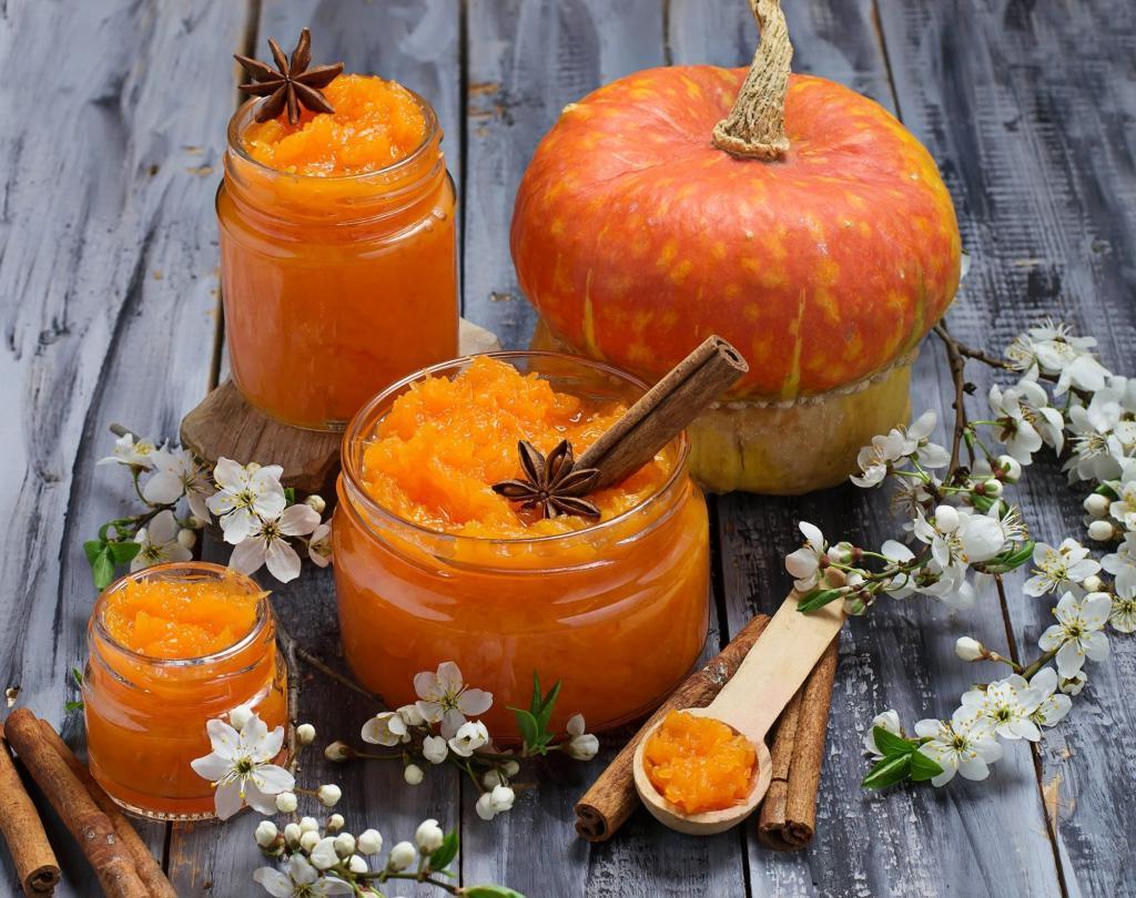 В сентябре варю побольше тыквенного варенья с апельсином: за зиму уходит все
