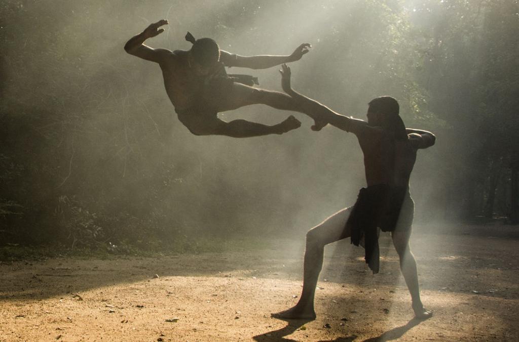 Ангампора - старейшее боевое искусство Шри-Ланки на основе аюрведы, которое чудом выжило под запретом колонизаторов