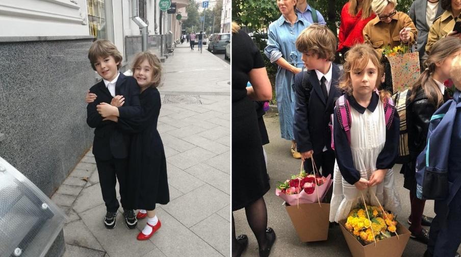 Звездные дети, которые пошли сегодня в первый класс: как малыши выглядели на торжественных линейках (фото)