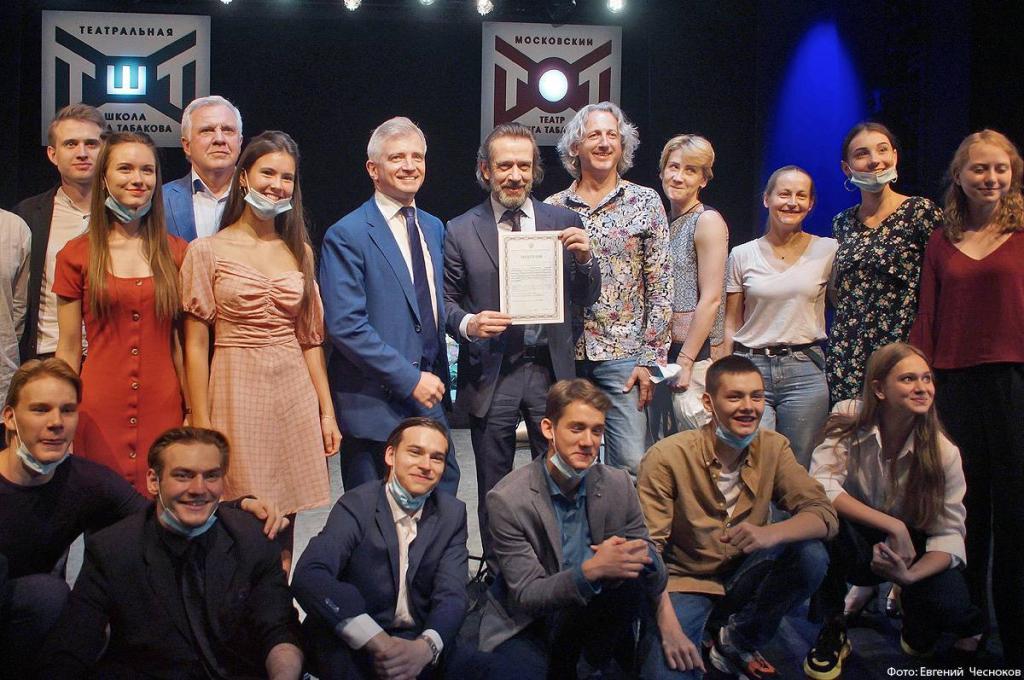 Окончить среднюю школу, одновременно получая актерское образование: теперь поступить в театральную школу Олега Табакова могут выпускники 9-го и 10-го класса