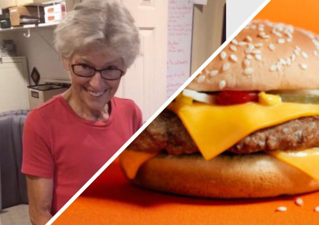 """Бабушка 20 лет хранила в шкафу бургер из """"Макдональдса"""". Теперь она показала, что с ним случилось"""