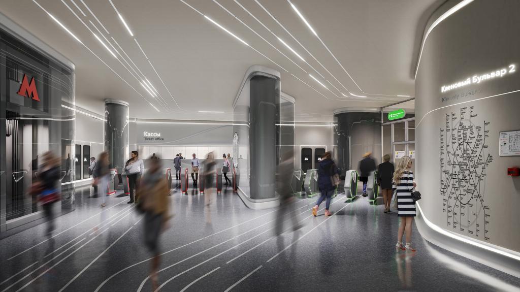 """Британские дизайнеры занимаются проектировкой станции """"Кленовый бульвар 2"""" на юге Москвы. Какой ее увидели профессионалы"""