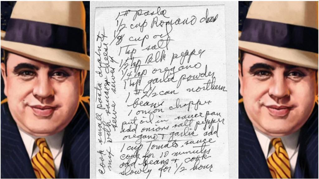 Рецепт любимого соуса пасты печально известного Аль Капоне. Его семья на нем неплохо зарабатывает