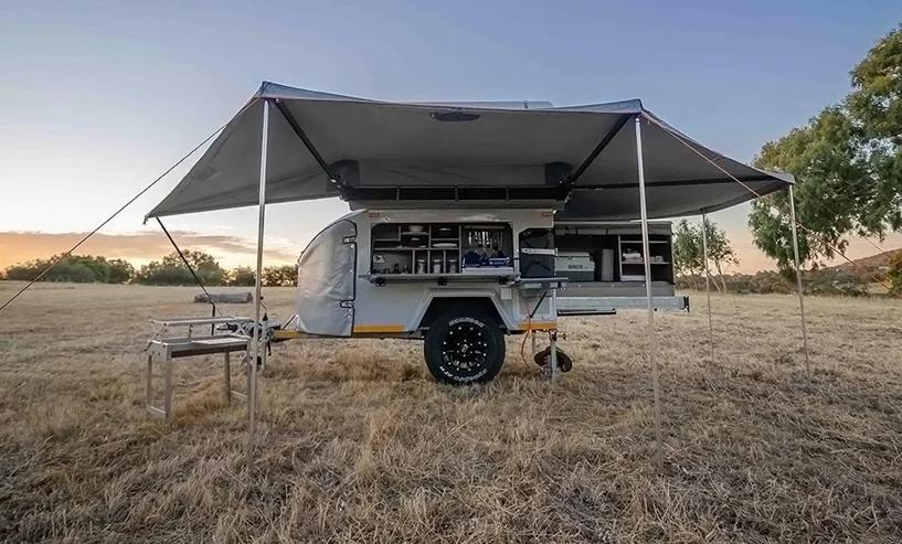 Южноафриканский приключенческий кемпер Mobi X с туалетом, душем и кухней: он может вместить до шести человек