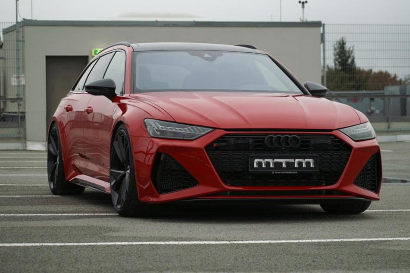 Доведена до предела возможностей: в тюнинг-ателье MTM построили 1000-сильную Audi RS6