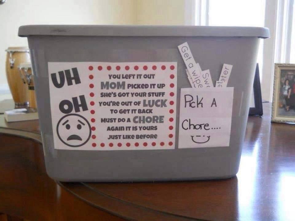 Доски объявлений и ящики поощрения: мамы поделились своими способами заставить детей помогать по дому