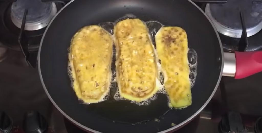 """Готовлю """"шницель"""" из баклажанов. Такое блюдо нравится всей моей семье"""