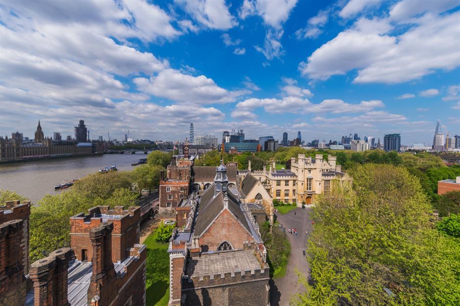 Скрытые жемчужины Лондона, которыми многие сегодня могут полюбоваться только из дома