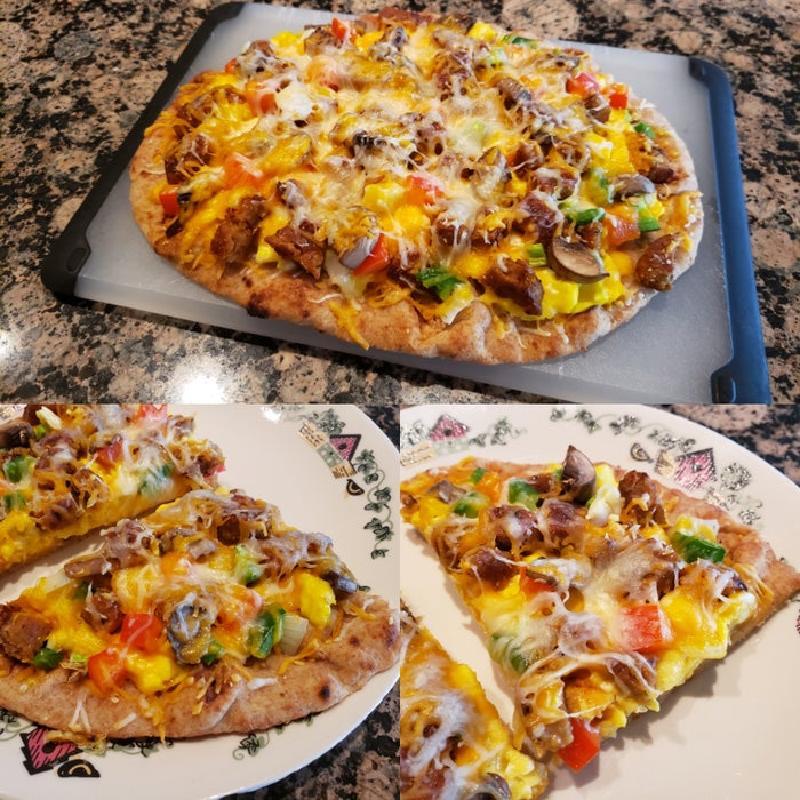 Пицца на завтрак для ваших родных и близких: простой и быстрый рецепт в четыре шага