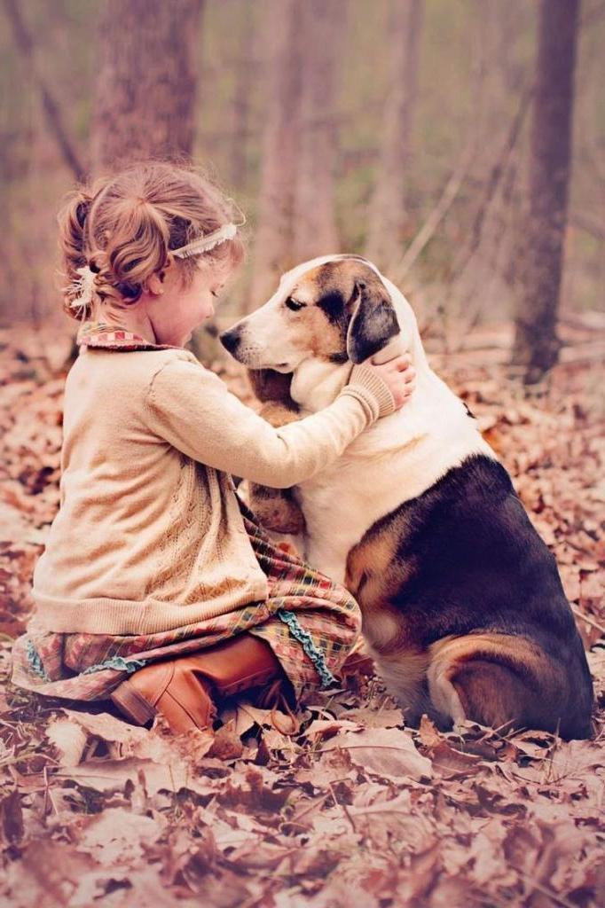 Люди, у которых в детстве была собака, более успешны в жизни, считают ученые