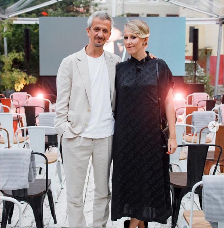 Ксения Собчак поздравила мужа с первой годовщиной свадьбы