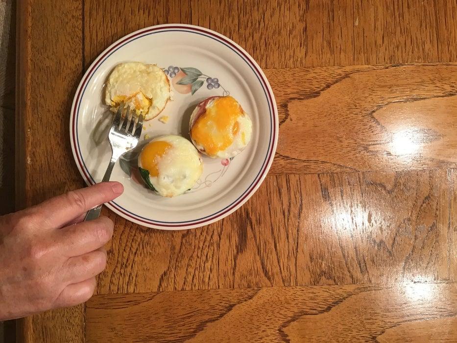 Ни грамма теста: на завтрак готовлю сытные кексы из ветчины и яиц. Отлично насыщают и не вредят фигуре