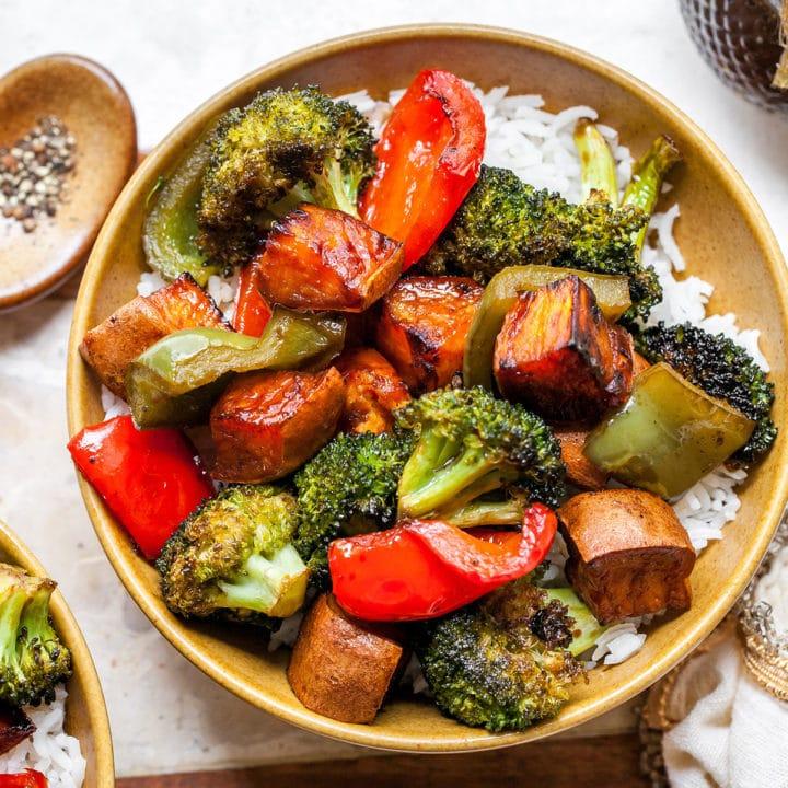 Нашла простой, но очень вкусный и полезный рецепт овощей с бальзамико: идеально к мясу или рыбе