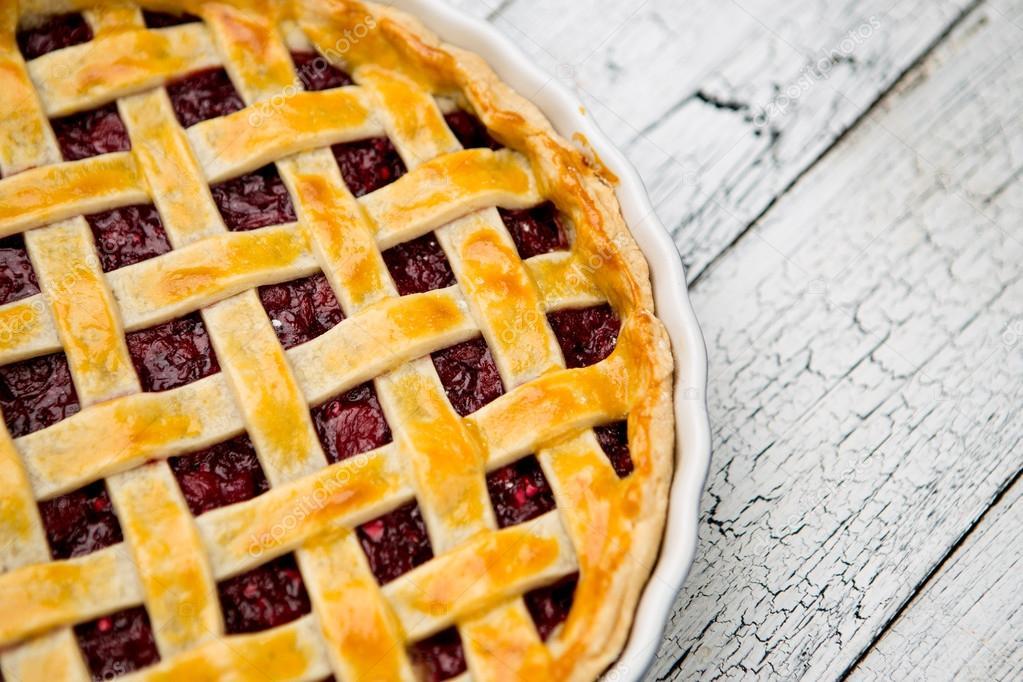 Простой осенний пирог с творогом и сливовым джемом. Готовлю каждые выходные