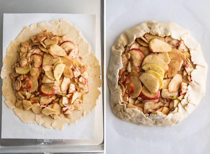 Нашла рецепт восхитительного осеннего десерта: яблочная галета, которую приготовить проще пирога