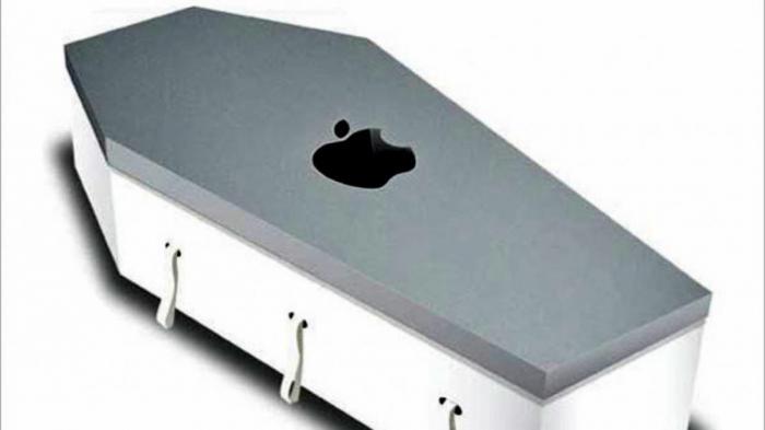 Смартфон в виде гроба - сегодняшний день