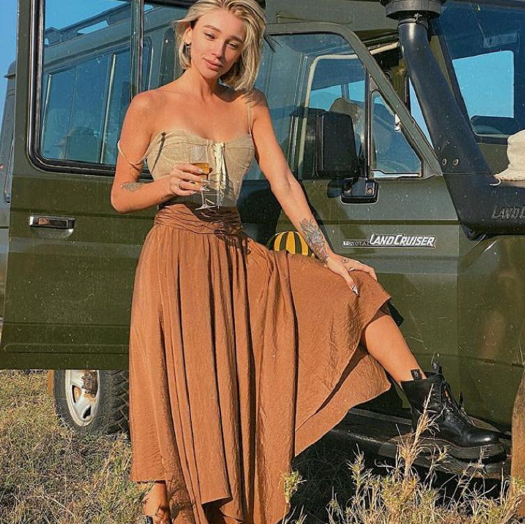 """""""Кажется, я влюбилась в Африку. А, нет, показалось"""": Настя Ивлеева поделилась впечатлениями от съемок нового сезона """"Орла и решки"""""""