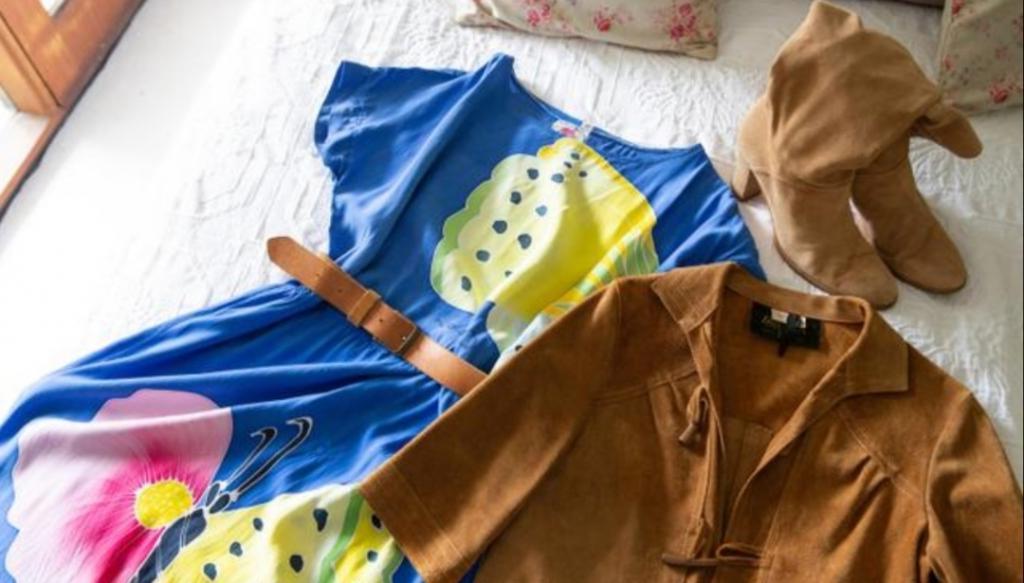 Вы такое нигде не найдете: девушка перестала покупать новые вещи, но ее гардероб выглядит стильно