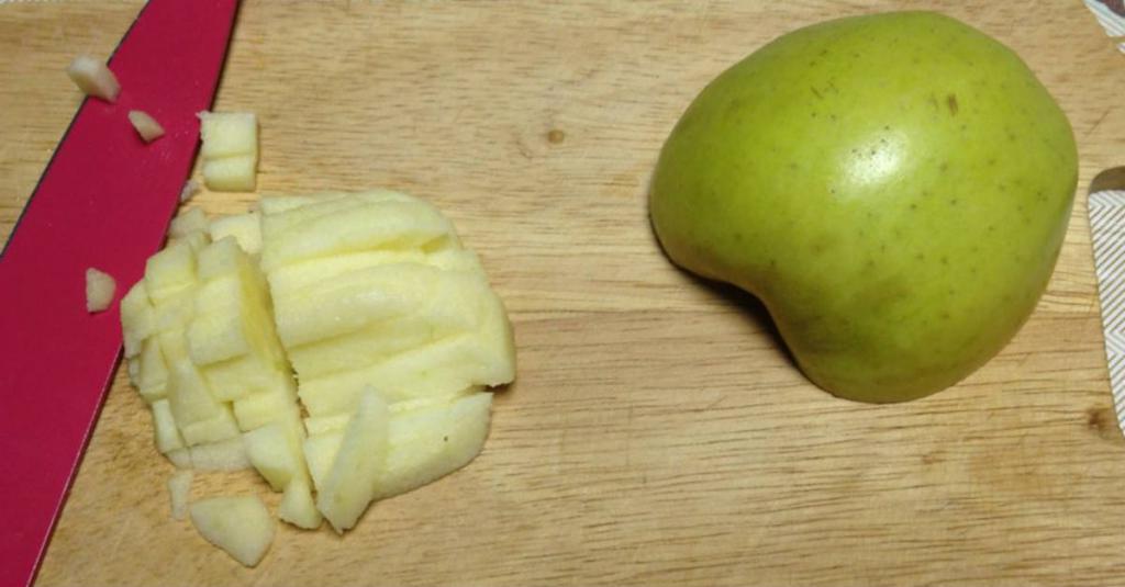 Творожно-яблочный завтрак. Готовлю его за 15 минут