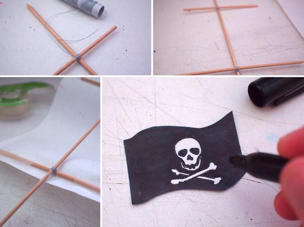 Если ребенок обожает пиратскую тематику, можно порадовать его тематическим лакомством: сытный пирог в виде пиратского корабля