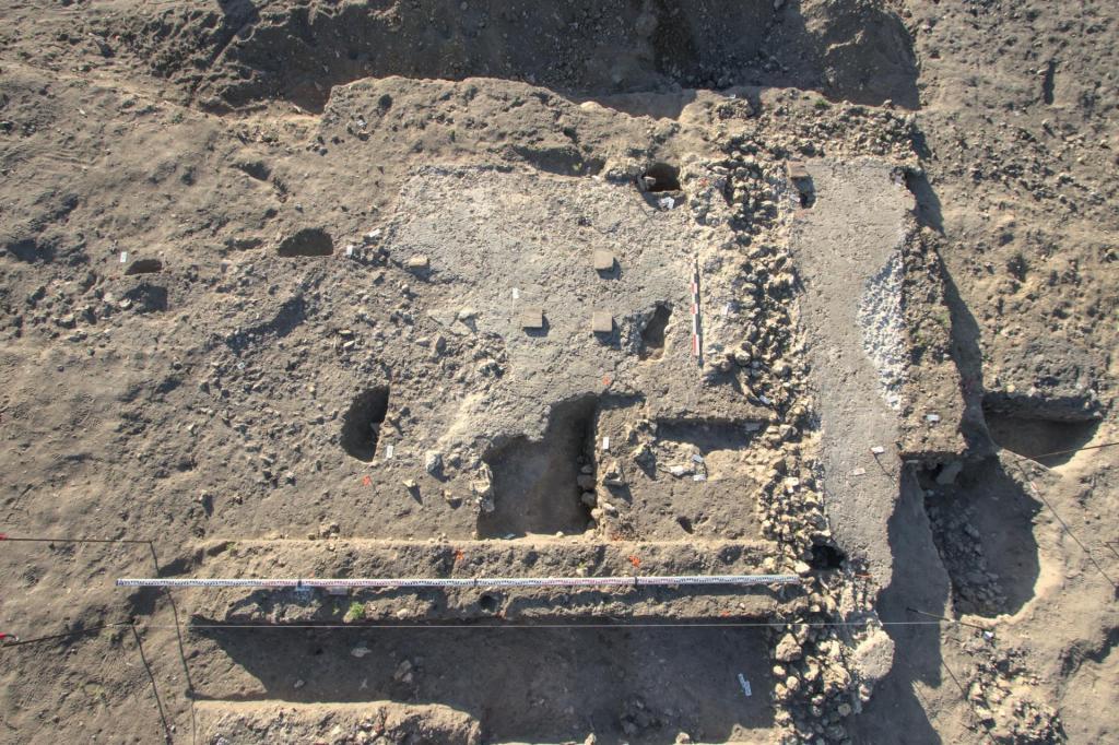 Во Франции археологи нашли виллу богатого римского винодела: были обнаружены различные типы сооружений Древнего мира и Средневековья