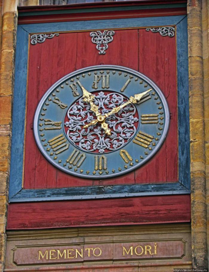 Часы как памятование о смерти
