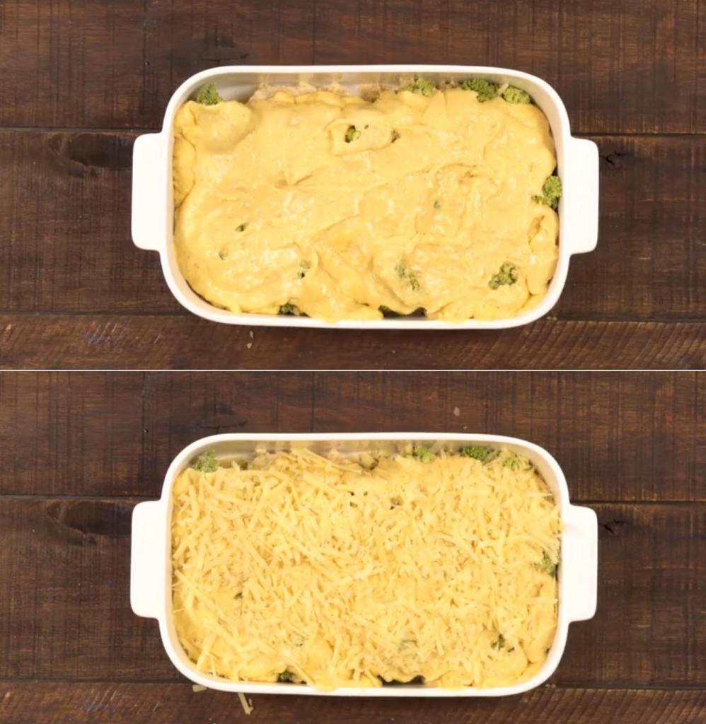 Куриная запеканка с брокколи, пармезаном и чеддером: рецепт необыкновенно вкусного и сытного блюда