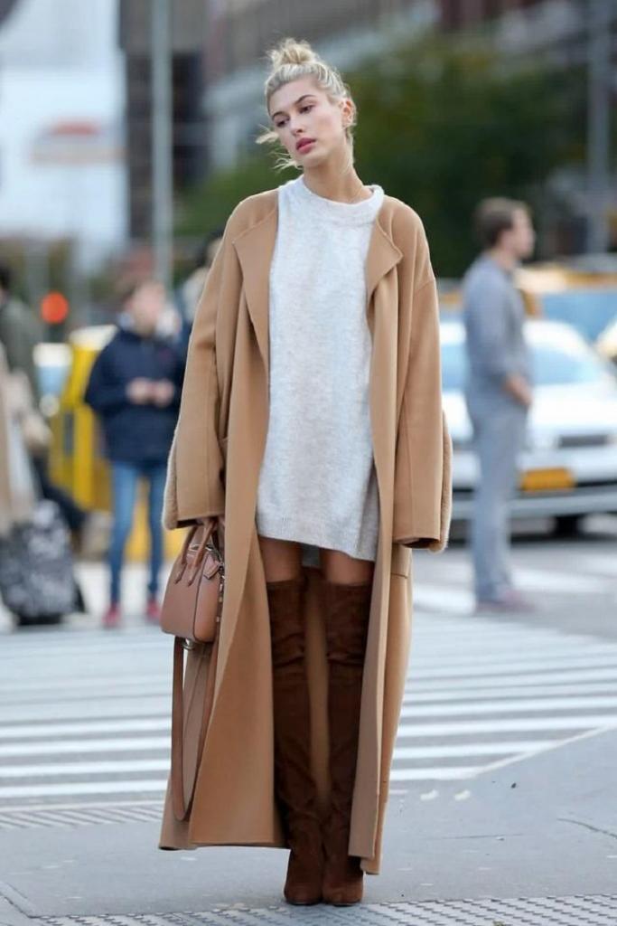 Не столь важно, что на вас надето этой осенью. Важно то, как сочетаются цвета одежды. Например, серый цвет хорошо сочетается с оттенком Camel