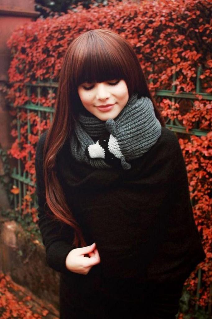 Основной аксессуар: яркий, длинный, узкий. Какой шарфик выбрать на осень и зиму