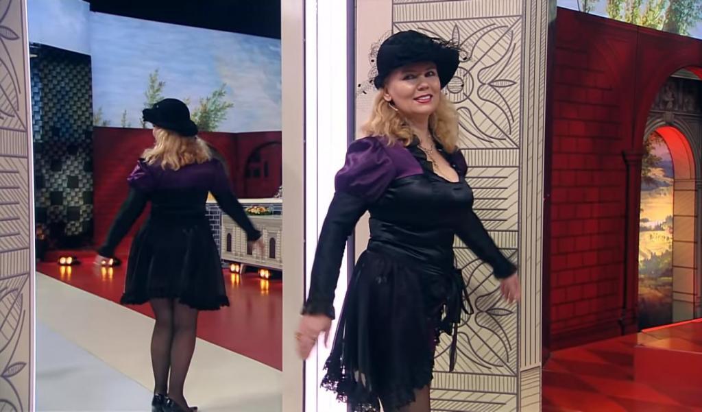 """47-летнюю Оксану, одевающуюся во все обтягивающее, вызывающее, кричащее, переодели на """"Модном приговоре"""": фото"""