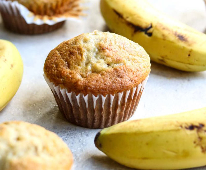 Из переспелых бананов пеку вкуснейшие кексы: дети их заказывают на каждые выходные