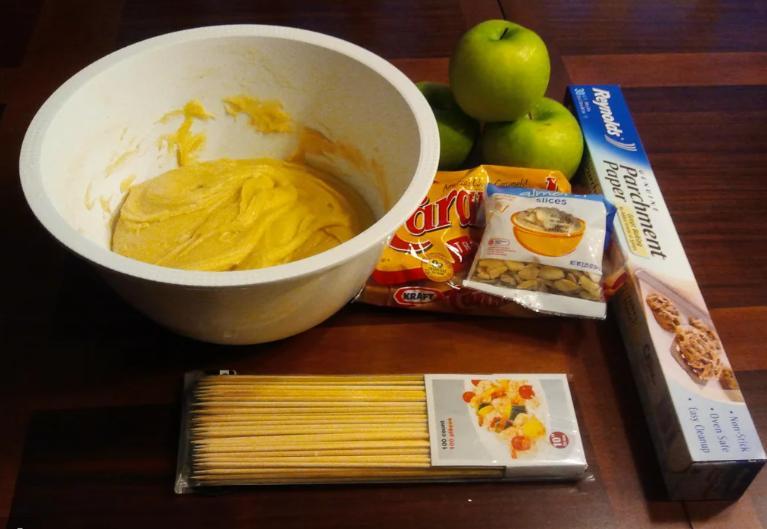 Счастье сладкоежки: по выходным готовлю свое любимое печенье с яблоком и карамелью