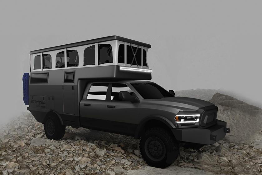 Кемпер EarthCruiser Terranova: лучший способ воплотить мечту о путешествии