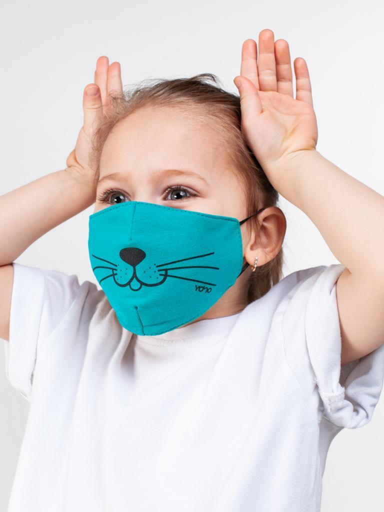 Ребенок отказывается носить защитную маску. Нашла отличные способы помочь ему. Например, можно просто сшить красивую
