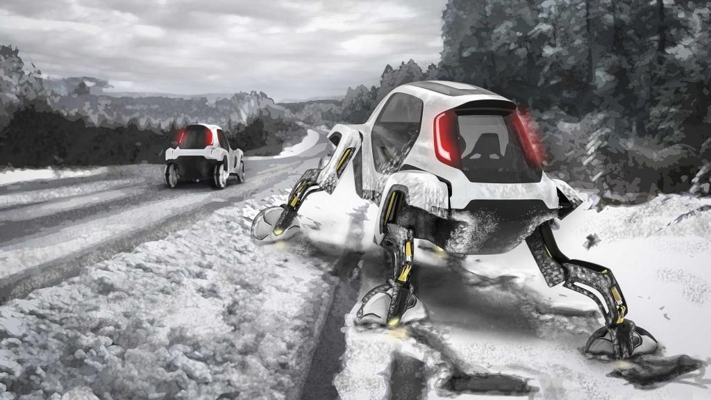 Новые горизонты: Hyundai планирует производство сверхмобилей-трансформеров