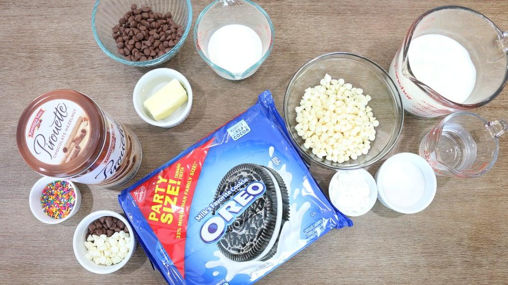 Шоколадный пудинг из молока и печенья Oreo: прекрасный вариант десерта для детского праздника