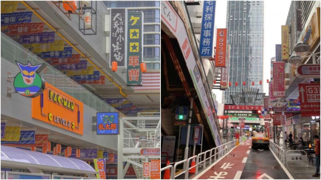 """""""Заграница"""" дома: в Китае открыли """"японскую"""" улицу, чтобы народ не скучал по путешествиям"""
