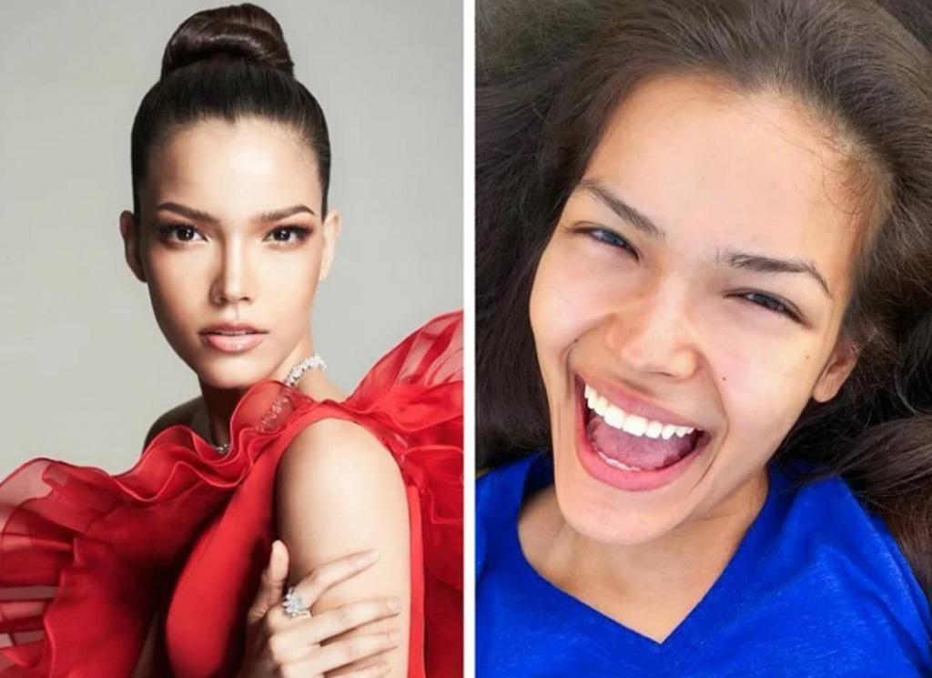 """9 кандидаток, которые боролись за звание """"Мисс Вселенная"""" в прошлом году: как девушки выглядят без макияжа"""