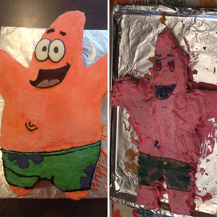 Ожидание - реальность. Люди пытались приготовить вкусный торт, но что-то пошло не так: 10 смешных фото