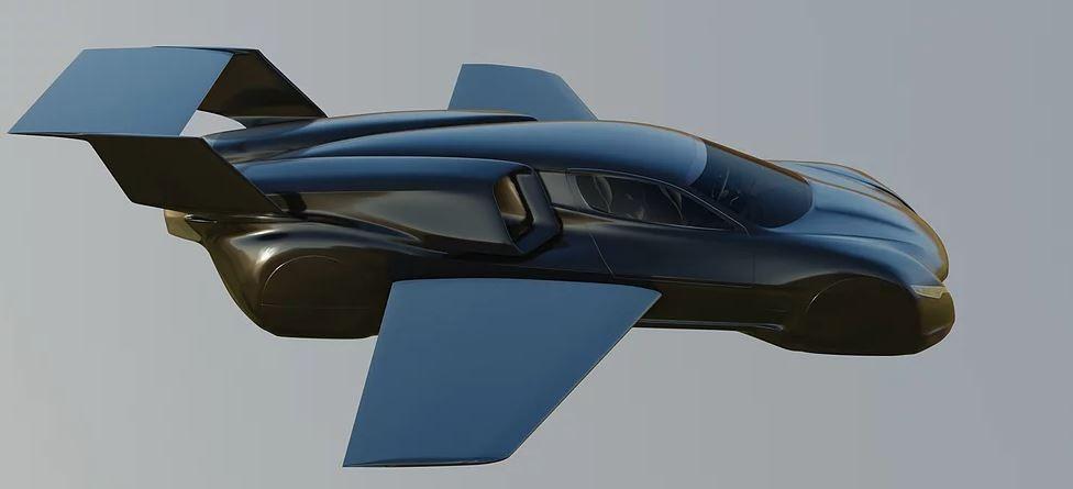 Firenze Lanciare: летающий гиперкар Tesla, который изменит понятие личной мобильности