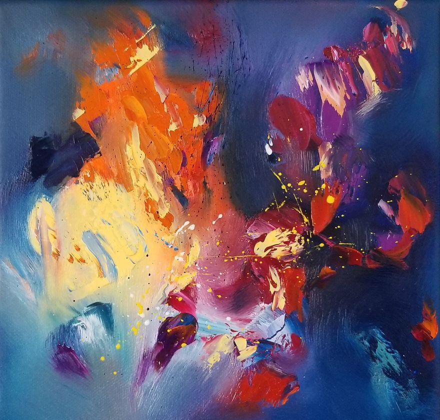 У Кассандры Миллер врожденная синестезия, поэтому она видит музыку и может изобразить ее на бумаге: какие картины у нее получаются (фото)