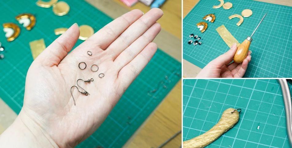 Серьги, которые идеально дополнят трендовый лук: можно сделать своими руками и сэкономить на бижутерии неплохую сумму
