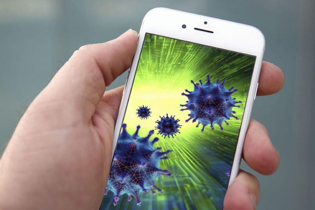 Коронавирус может жить месяц на банкнотах и экранах телефонов