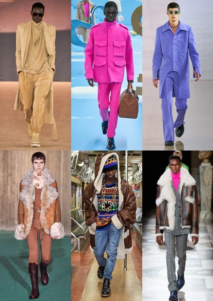 """""""Красная тревога"""", """"Лихорадка 70-х"""" и другие тенденции уличной мужской моды осень-зима 2020-2021"""