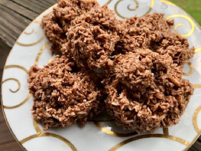 Шоколадное печенье с арахисовым маслом: вкусный десерт без яиц, сахара и сливочного масла
