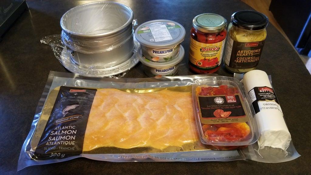 Охлажденный пикантный террин из лосося и сыра: удивляю гостей необычной холодной закуской