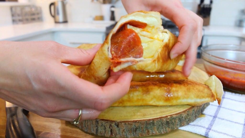 Пицца-такитос запечённая в масле: порадуйте свою семью необычной выпечкой