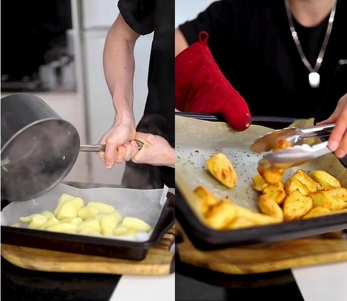 Повар-подросток поделился секретами идеально жареного картофеля: рецепт посмотрели более 500 000 раз